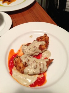 Gorgonzola Chicken @ 13 Gypsies Riverside Tapas