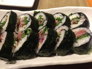Black n Bleu Sushi Roll
