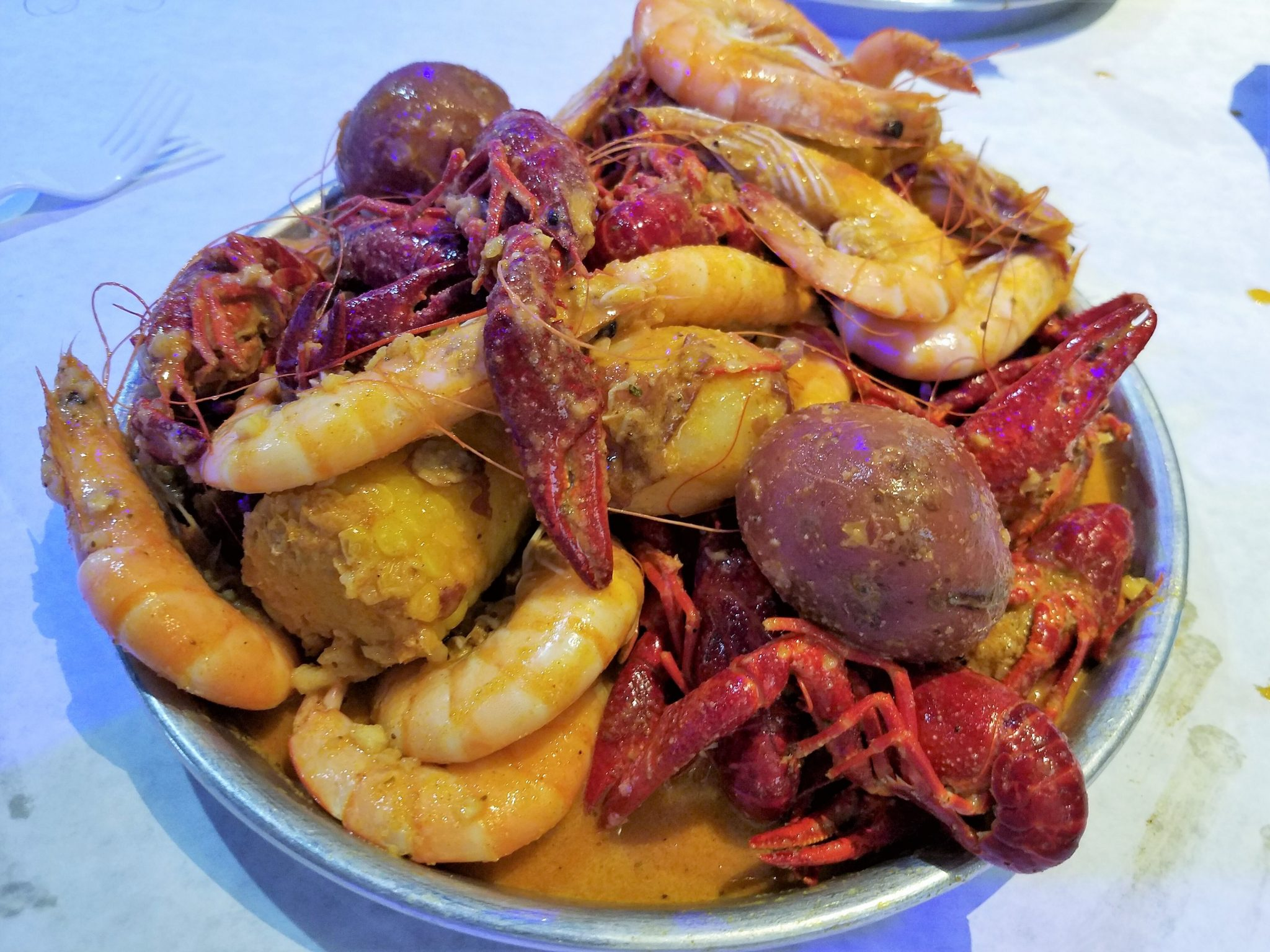 Seafood Boil Your Way At Crafty Crab Jacksonville